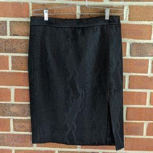 ALTUZARRA Black Skirt with Side Slit